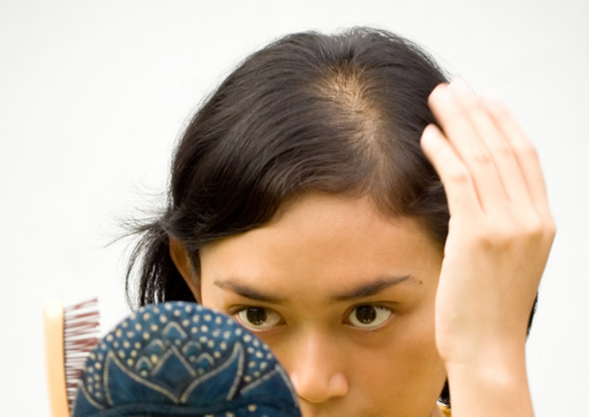 Study says losing your hair is probably normal