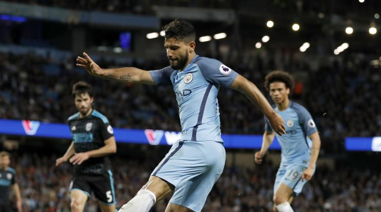 Sergio Aguero: I'm fit to lead the City line against Leicester