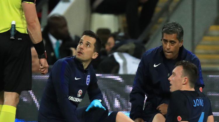 Manchester United boss Jose Mourinho criticises England for playing Phil Jones