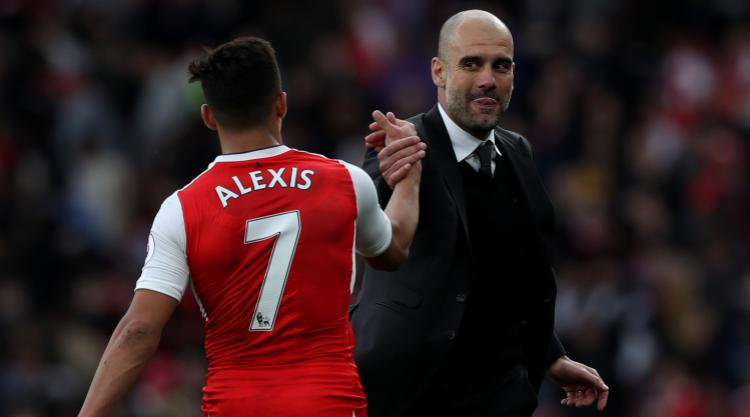 Pep Guardiola won't say if Manchester City will bid for Alexis Sanchez again