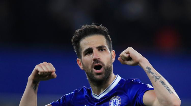 Cesc Fabregas happy for Antonio Conte to keep tinkering at Chelsea