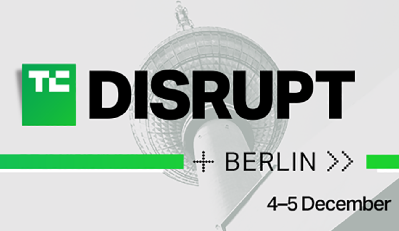 Early-bird ticket deadline for Disrupt Berlin extended til 22 November