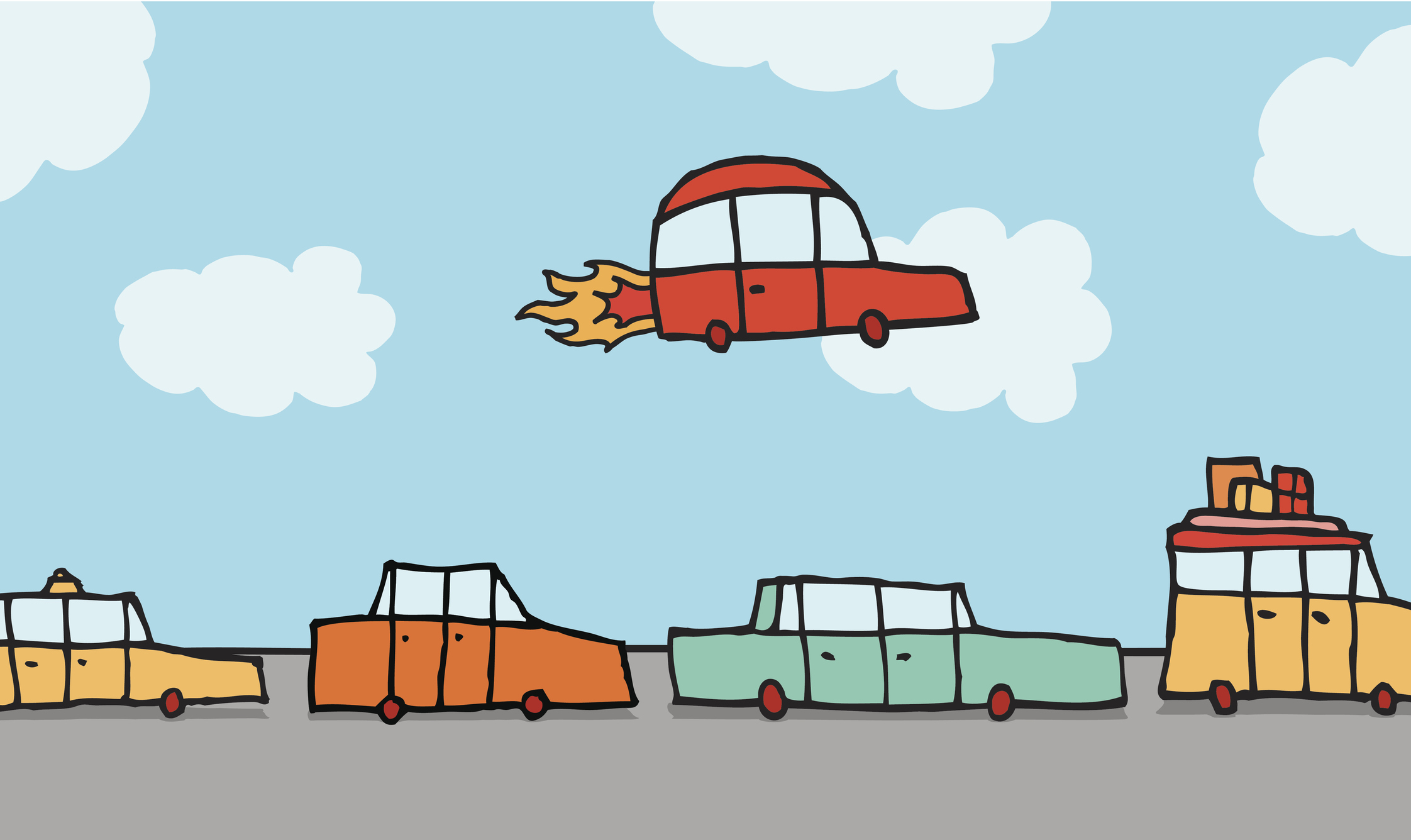 Are flying cars the future of transportation or an inflated expectation?