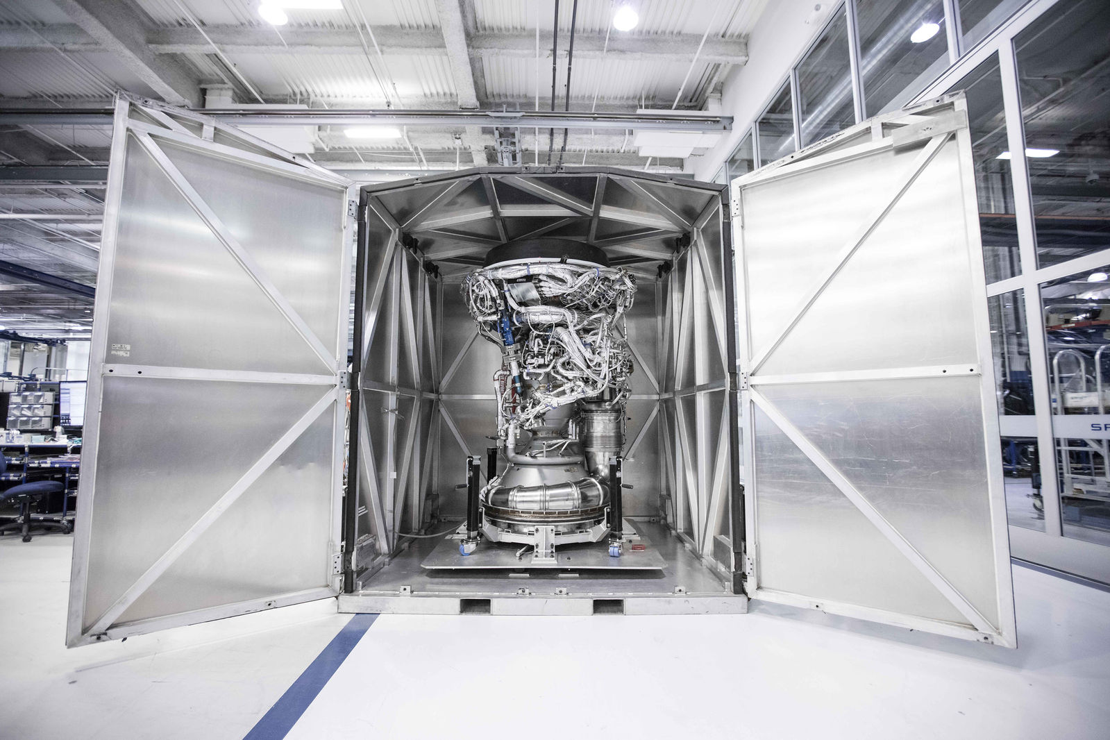 SpaceX Merlin rocket engine explodes during testing at Texas facility