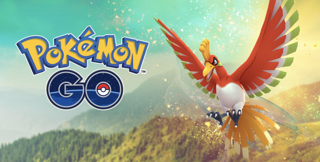 Pokémon GO gets a surprise new legendary: Ho-Oh