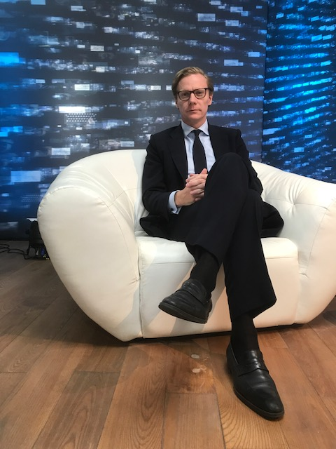 The CEO of Cambridge Analytica plans a book on its methods, and the US election