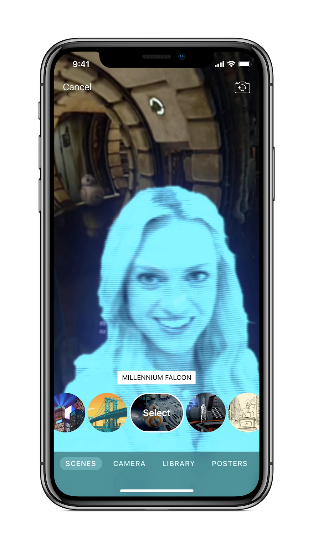 Apple updates its Clips video app with fancy selfie backgrounds and iCloud support