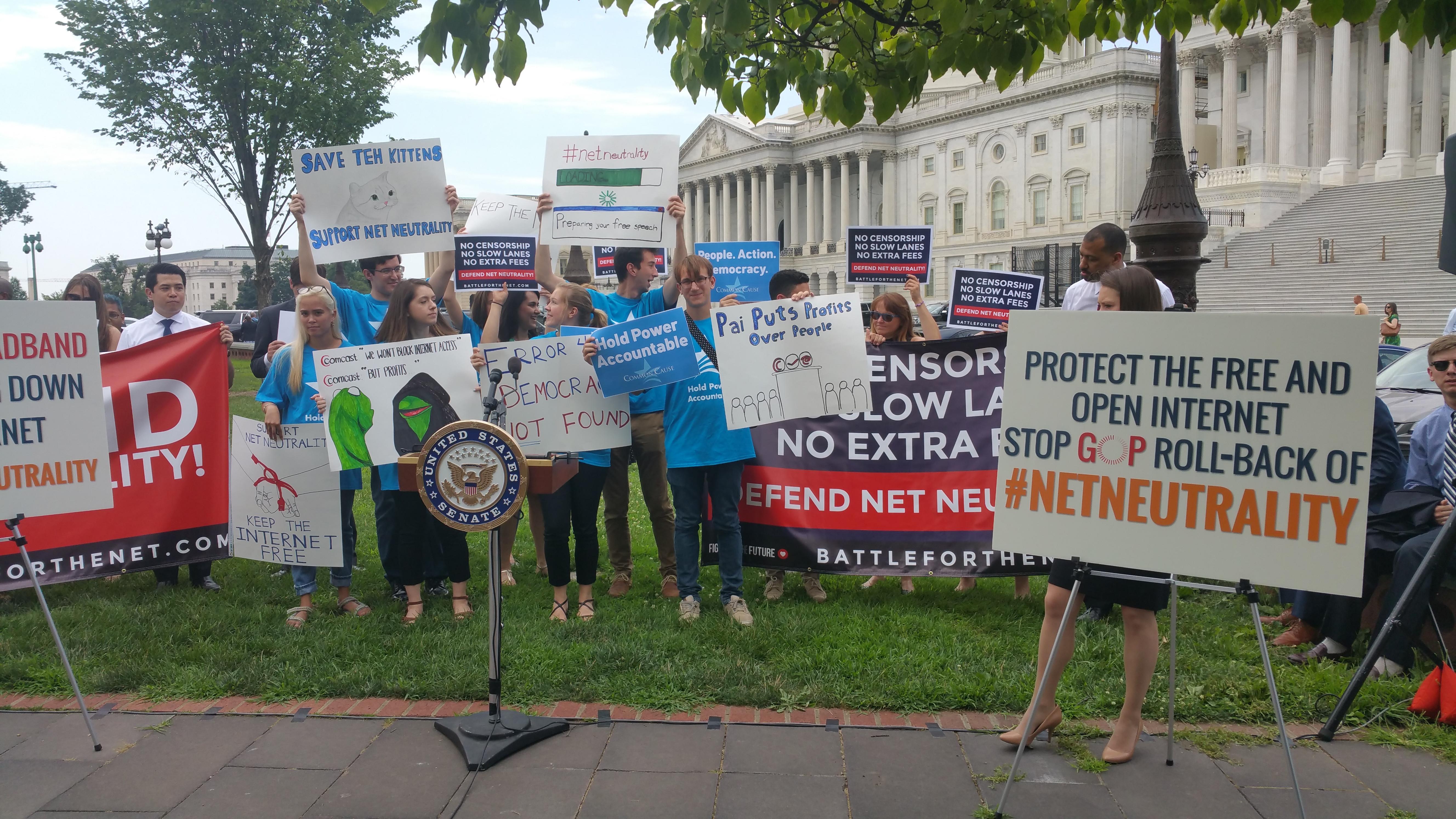 The FCC's craven net neutrality vote announcement makes no mention of the 22 million comments filed