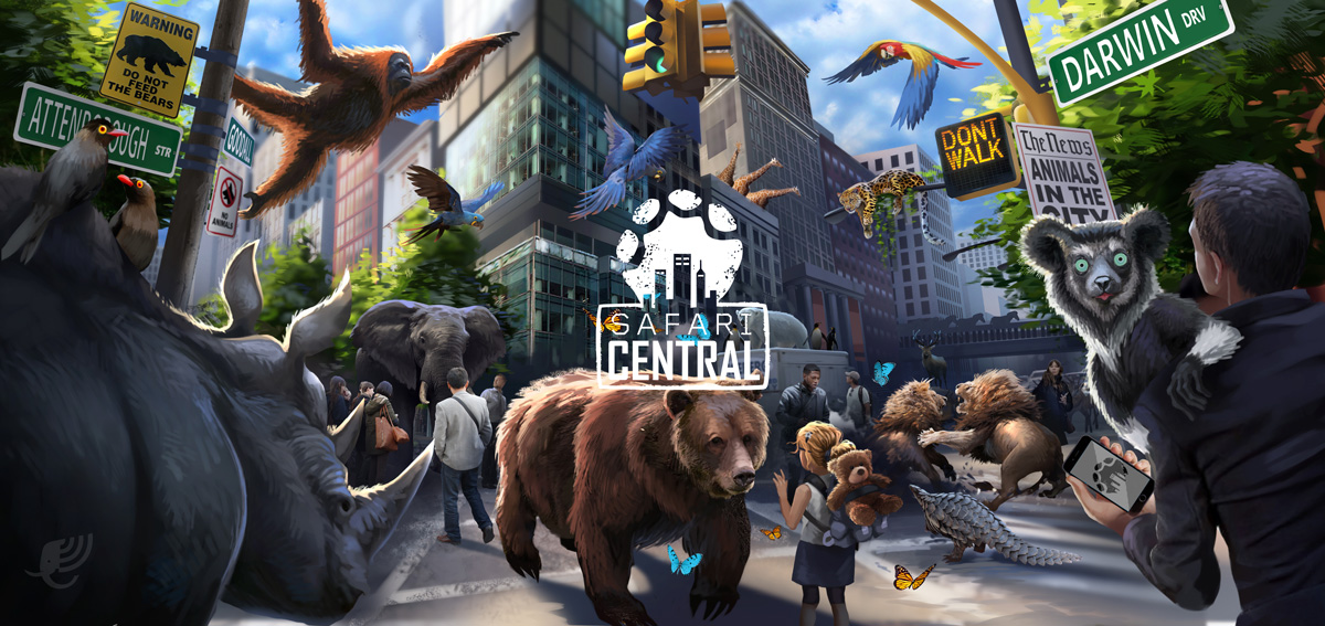 Internet of Elephants uses AR to get up close to endangered species, turns their migrations into a game
