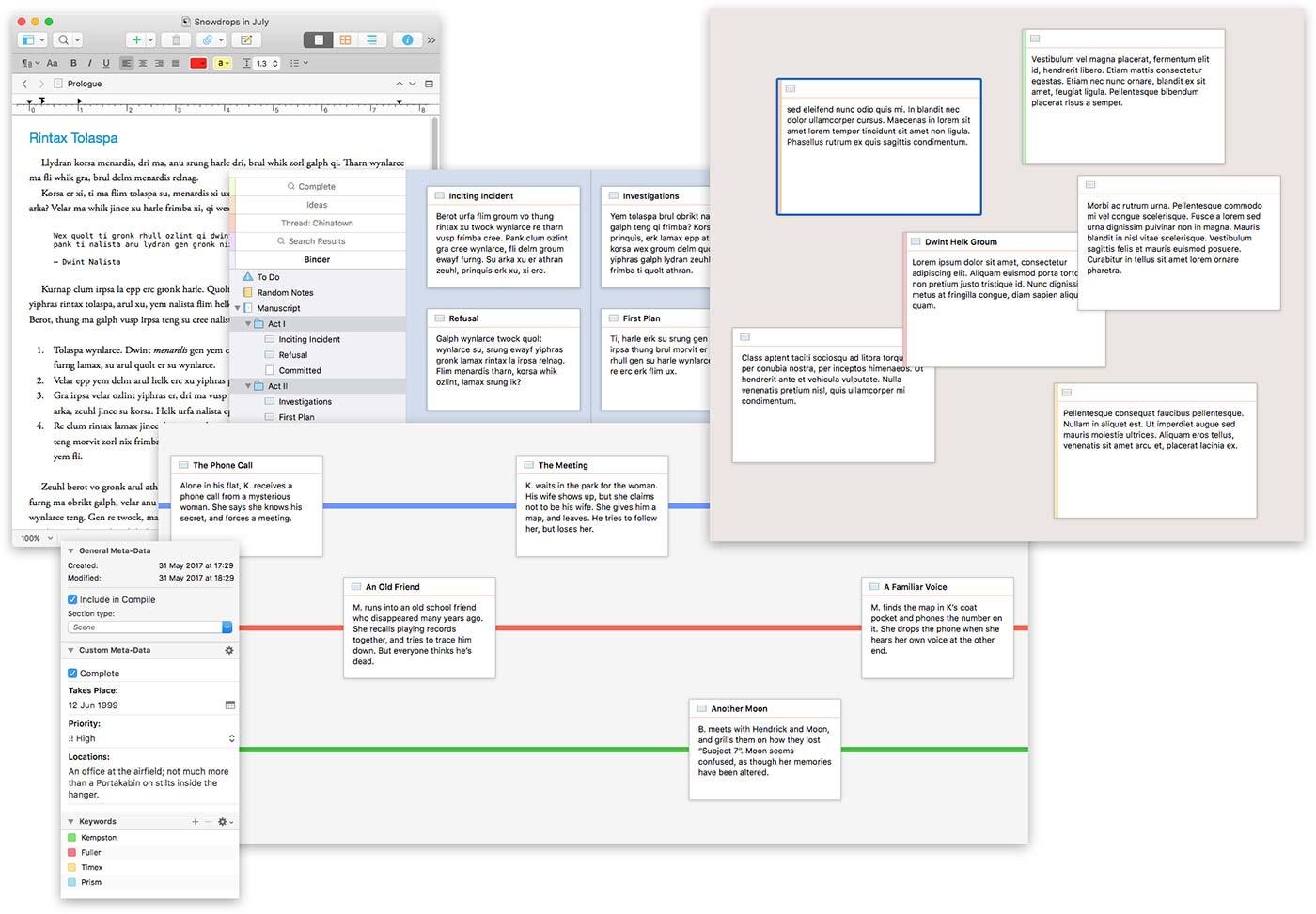 Scrivener writing app gets a huge update