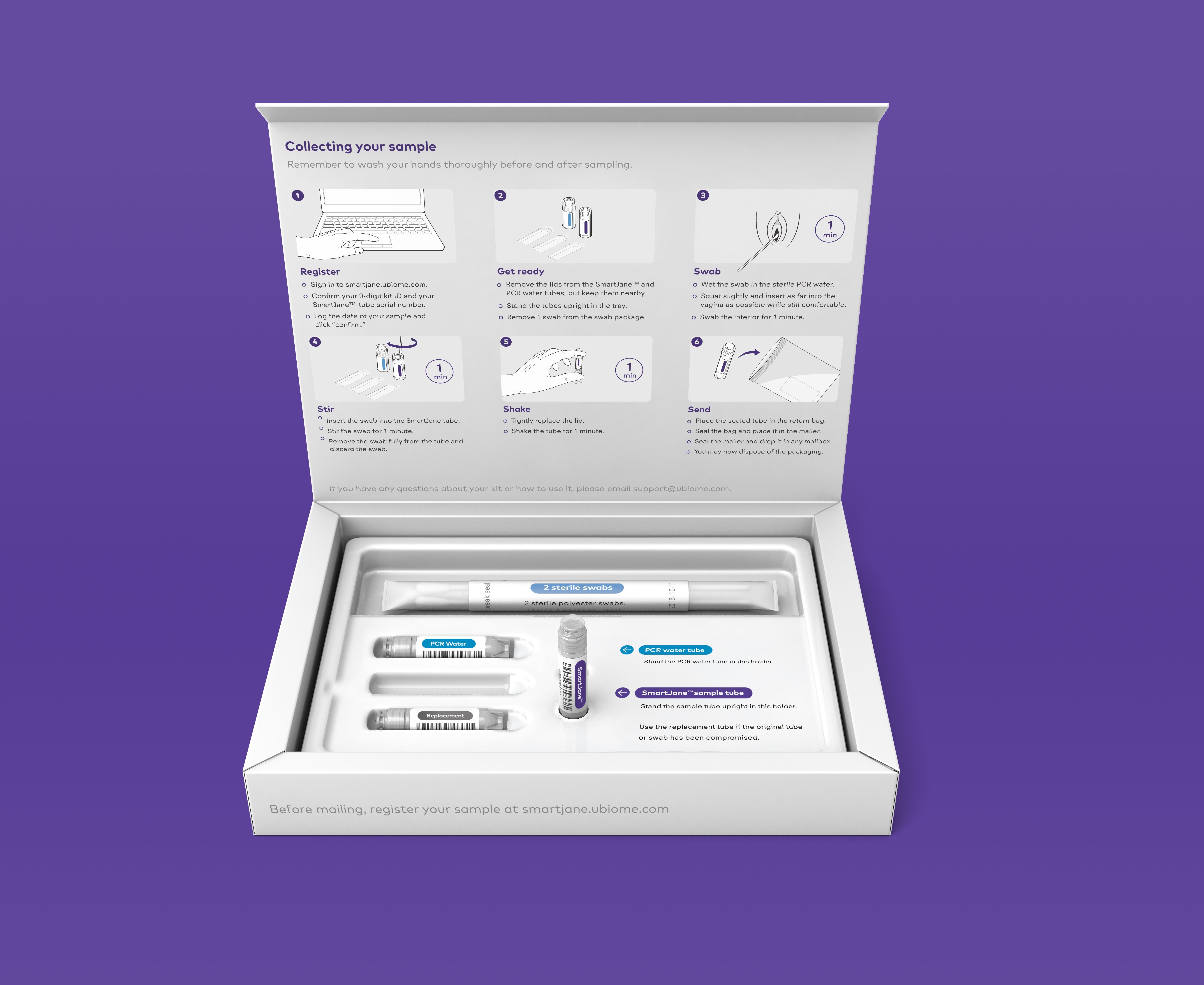 uBiome launches an at-home women's health test for HPV, STI's and bacterial vaginosis