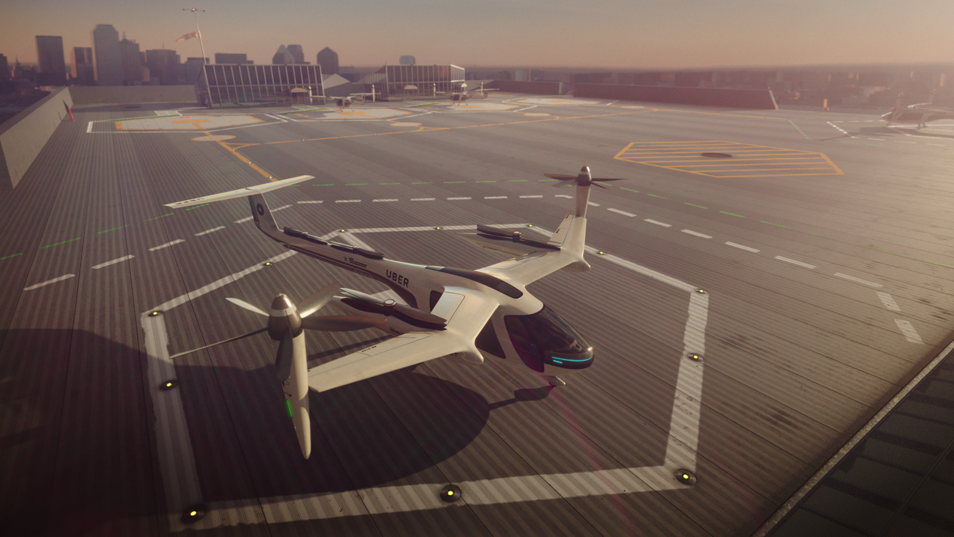 Uber adds LA to flying taxi test cities, demo flights slated for 2020