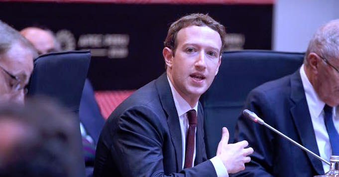 "Zuck says ad transparency regulation would be ""very good if it's done well"""