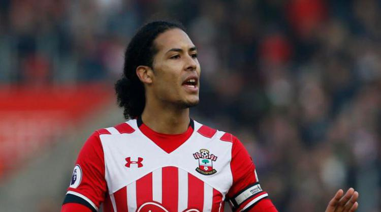 Virgil Van Dijk 'cannot Wait To Pull On Famous Red Shirt' After Liverpool Move