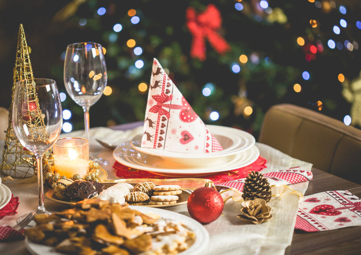 Tips on how not to overindulge this festive season