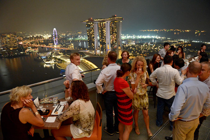 The very best rooftop bars In Singapore