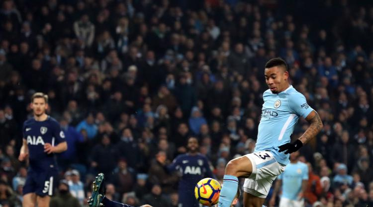 Premier League leaders Manchester City have no intention of easing up – Jesus