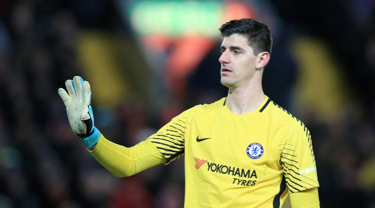 Thibaut Courtois urges Chelsea to keep up pressure on Manchester City
