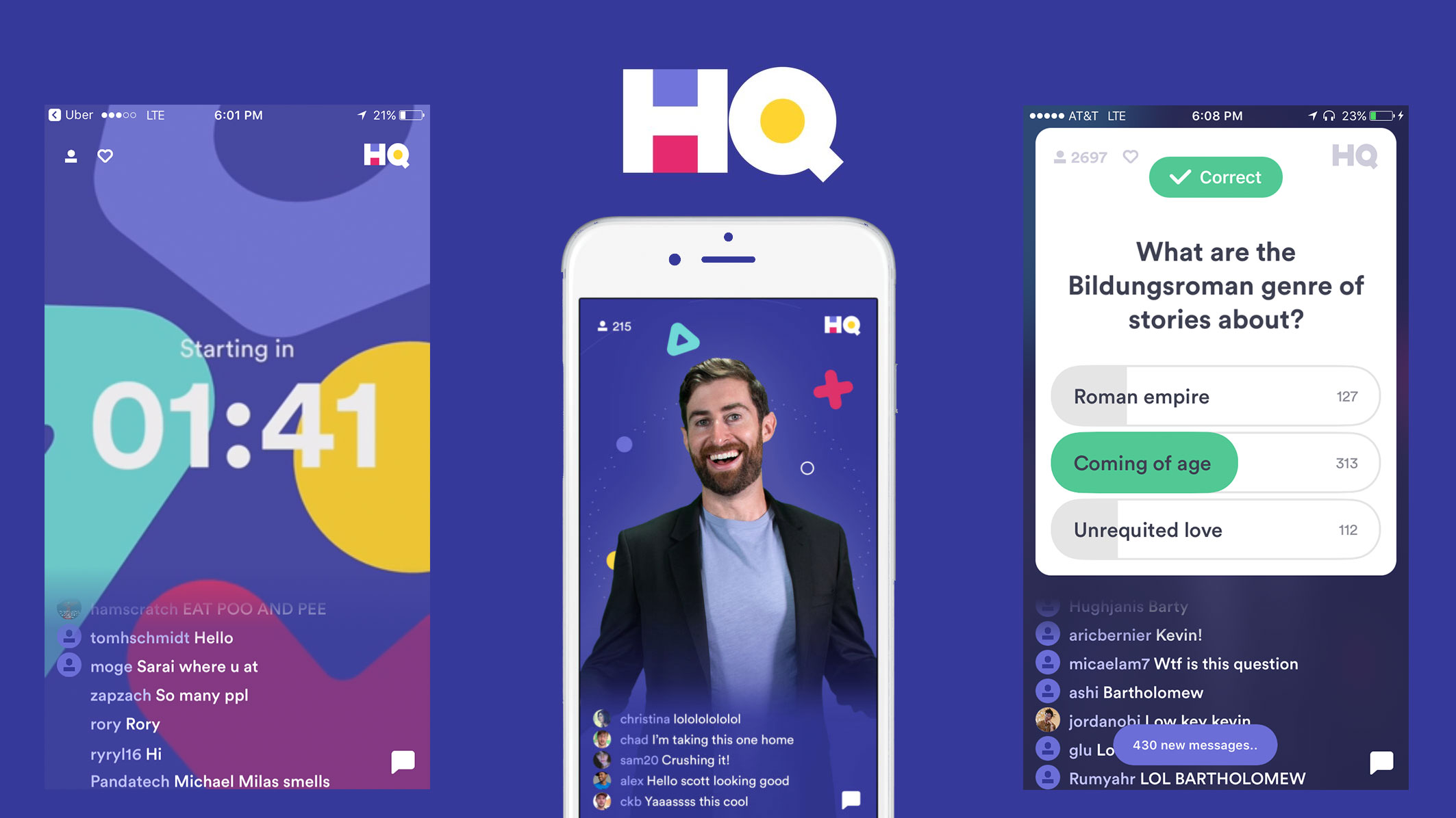 HQ Trivia is coming soon to Android