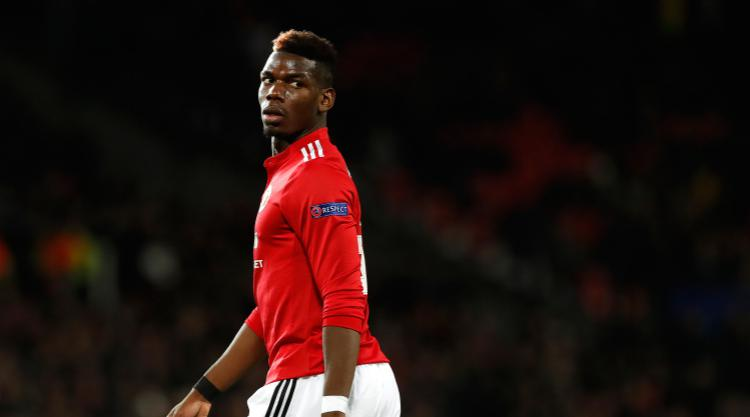 Suspended Pogba vows to help United prepare for derby clash with City