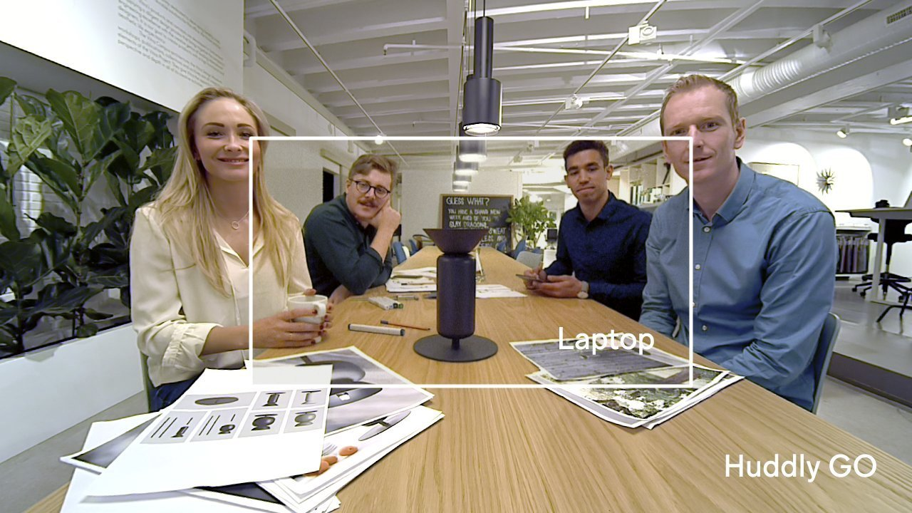 With $10M in new funding, Huddly launches its smart GO camera for video conferencing