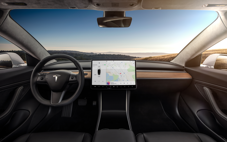 "Tesla vehicles to get a ""major navigation overhaul"" in 2018"