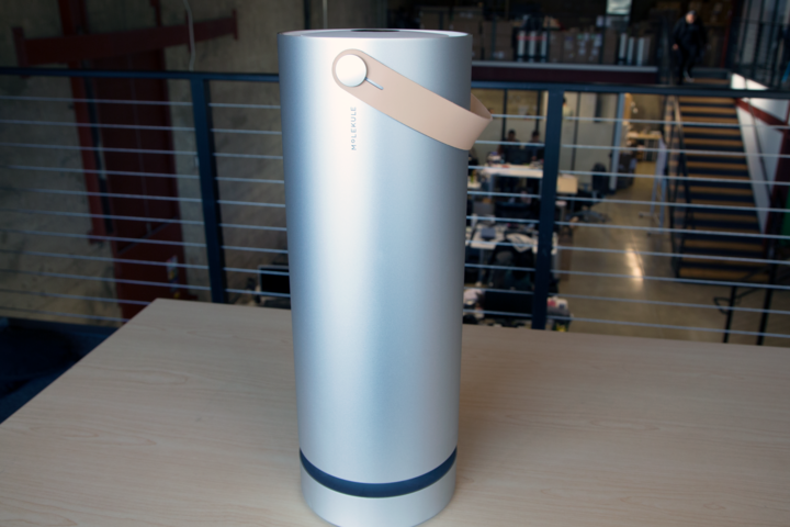Meet Molekule, the sleekest air purifier on the market