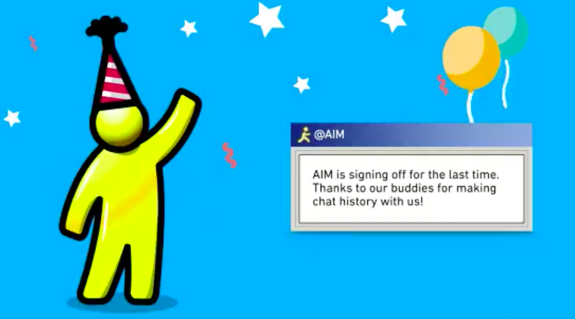 AIM is officially dead