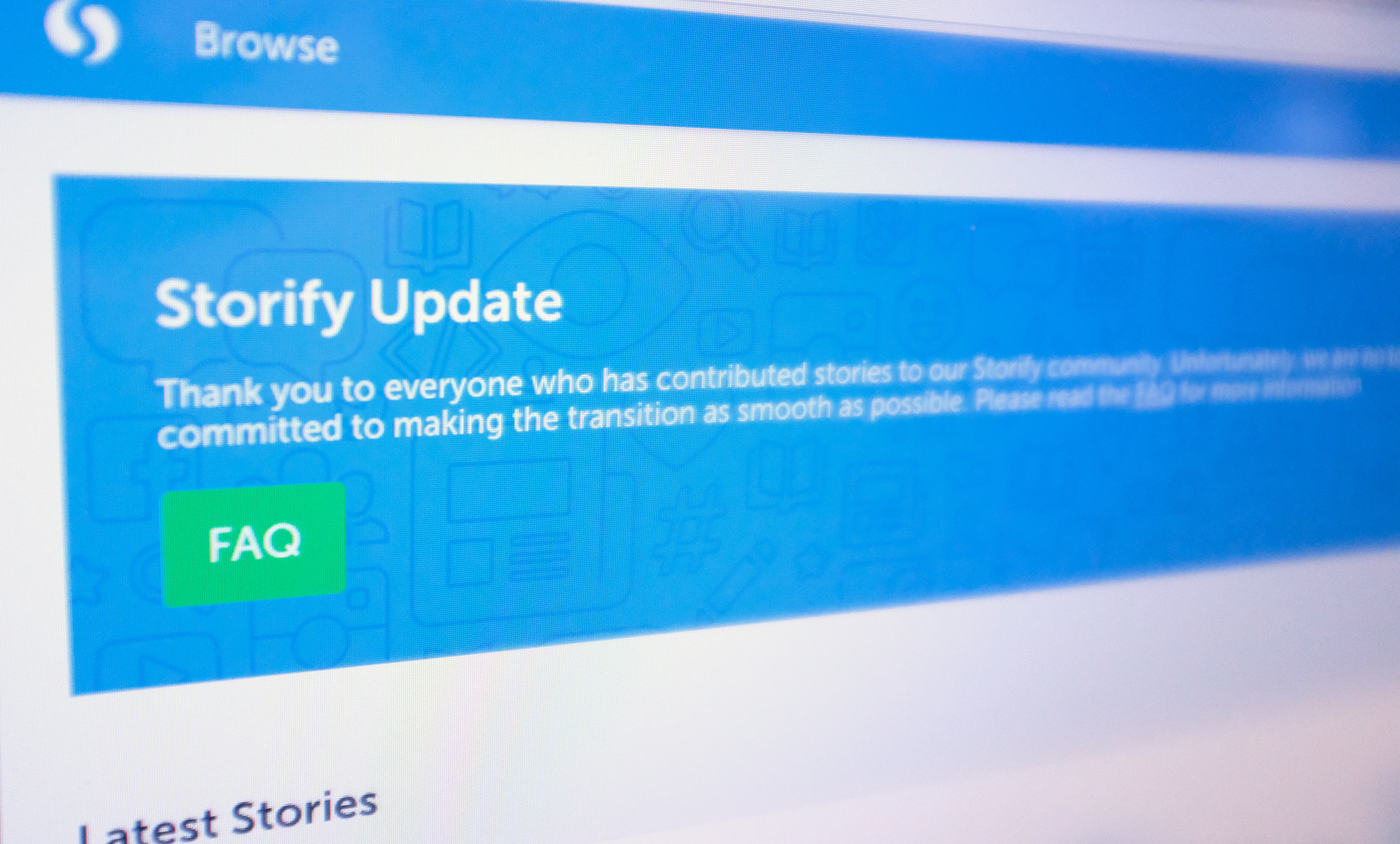 Storify's standalone service is shutting down next year