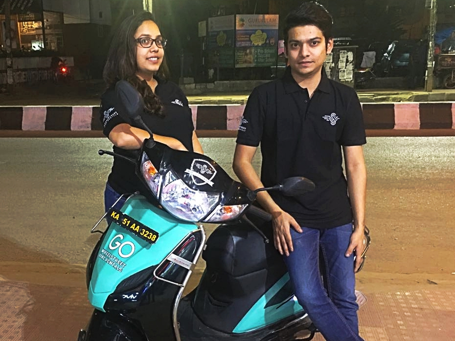 WheelStreet is bringing dock-less motorbikes to India's cities