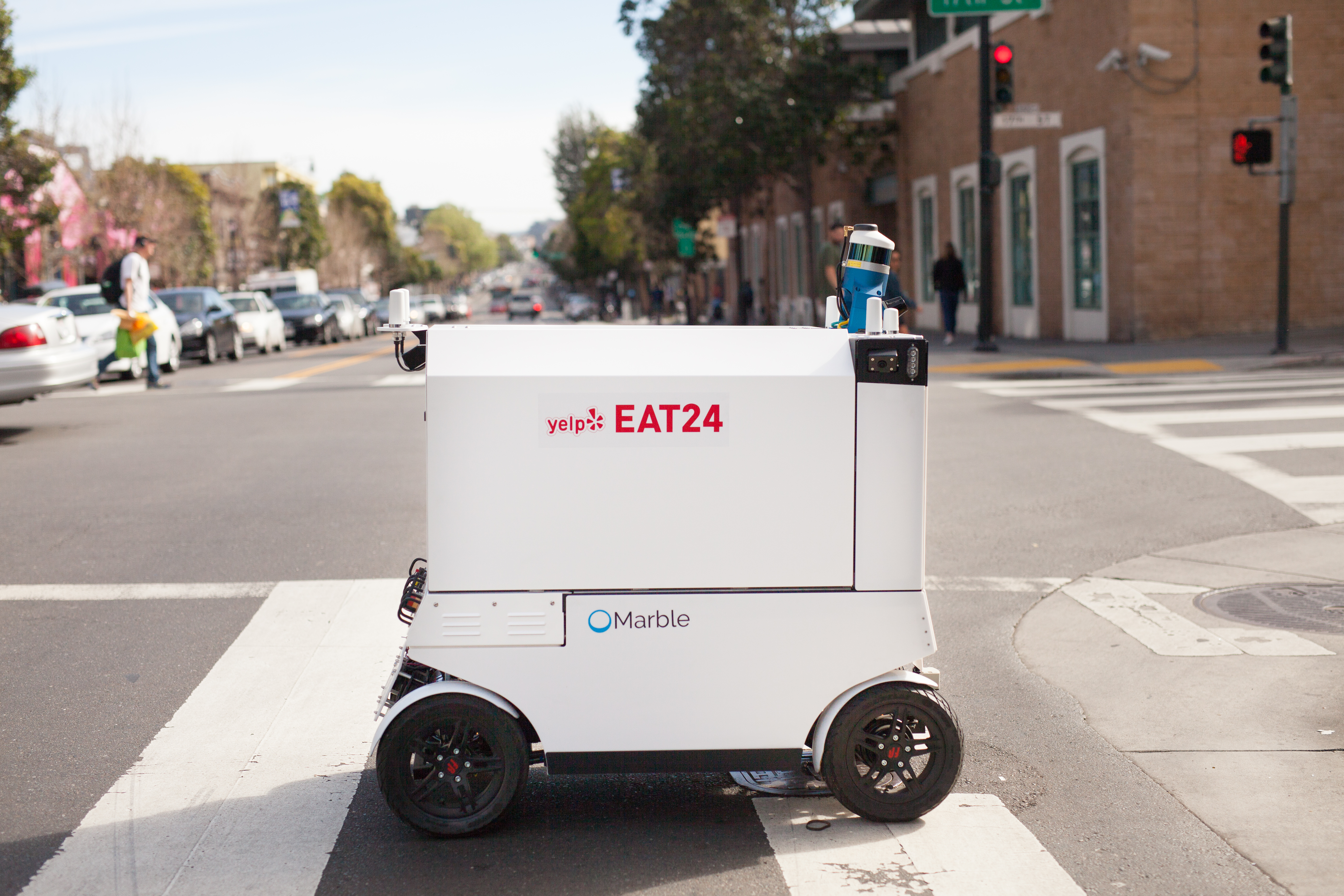 San Francisco made things much tougher for robotic delivery startups this week