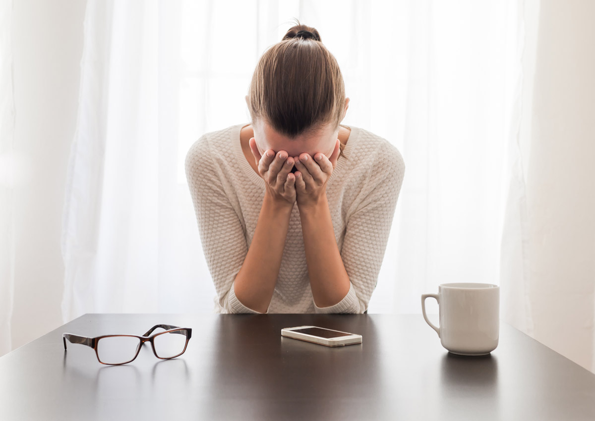 Watch out for these signs of a stress breakdown