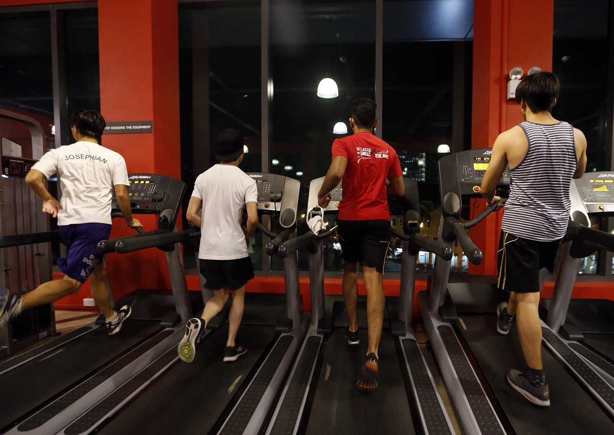 Can living near a gym make you slimmer?