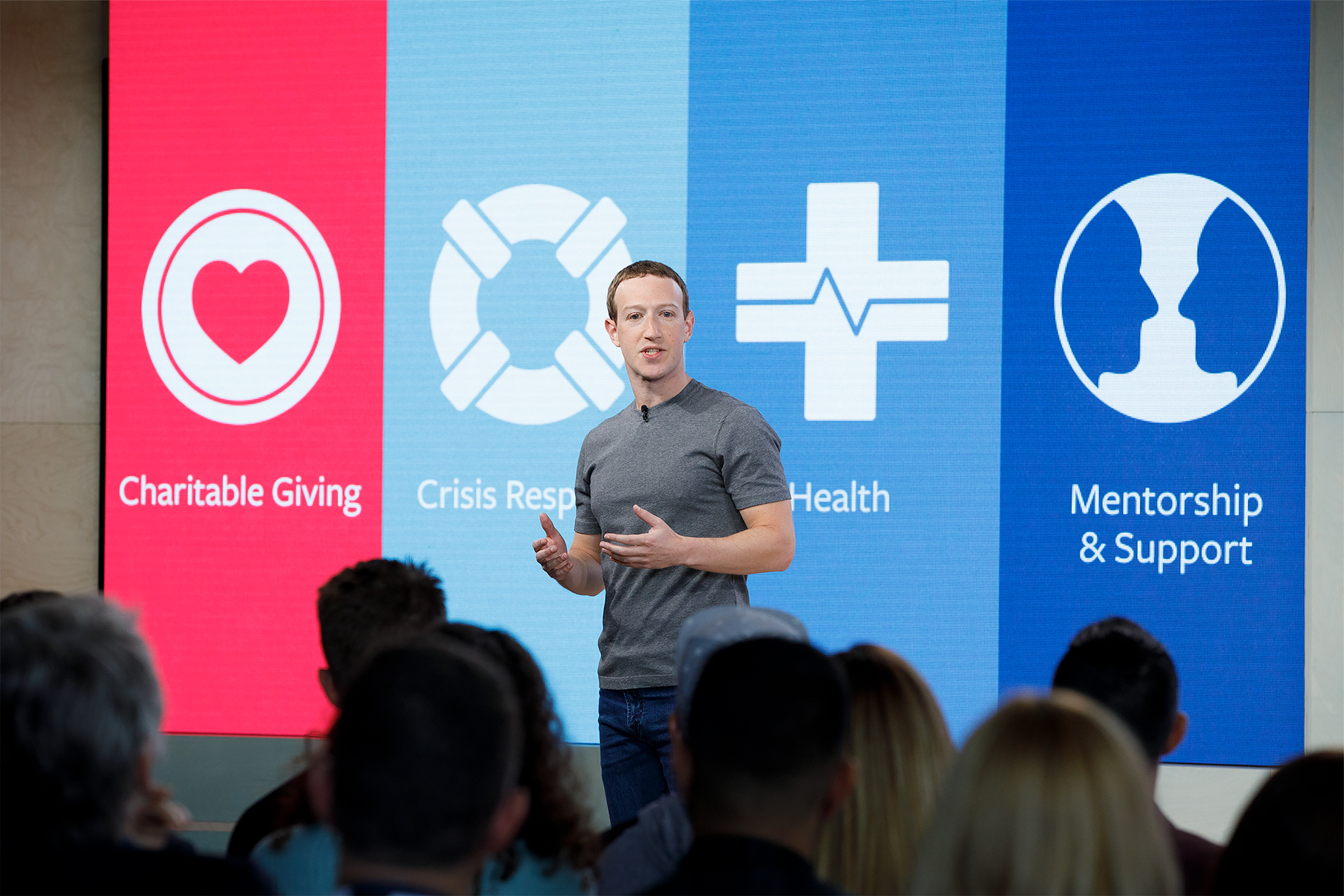 """Facebook feed change sacrifices time spent and news outlets for """"well-being"""""""