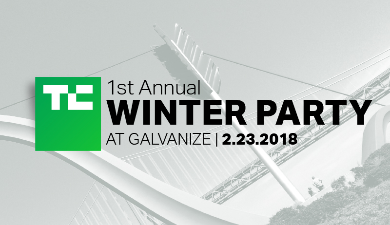 Join TechCrunch at our 1st Annual Winter Party
