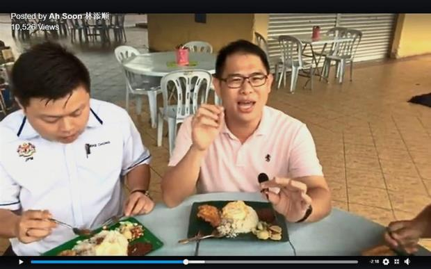 Vlogger spreading Yong Peng's fame as food destination