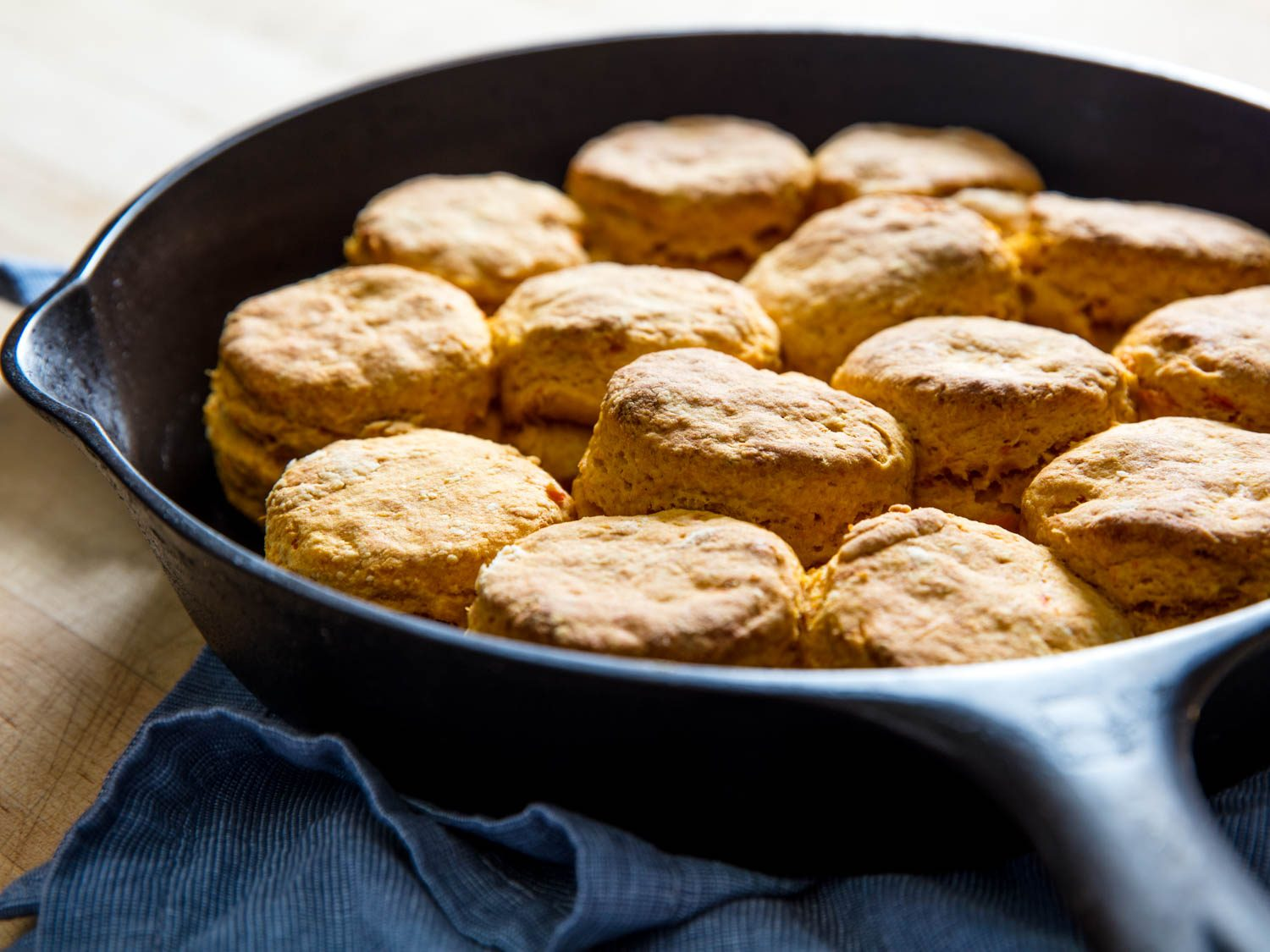 The Best Sweet Potato Biscuits