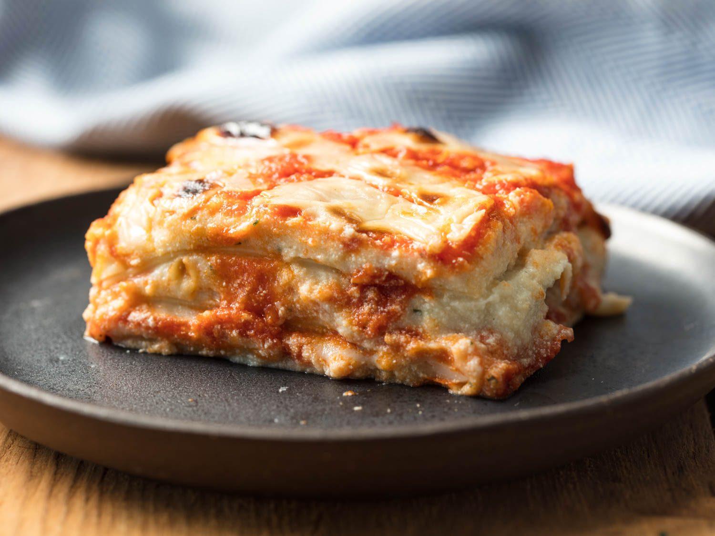 "Vegan Italian-American Lasagna With ""Ricotta"""