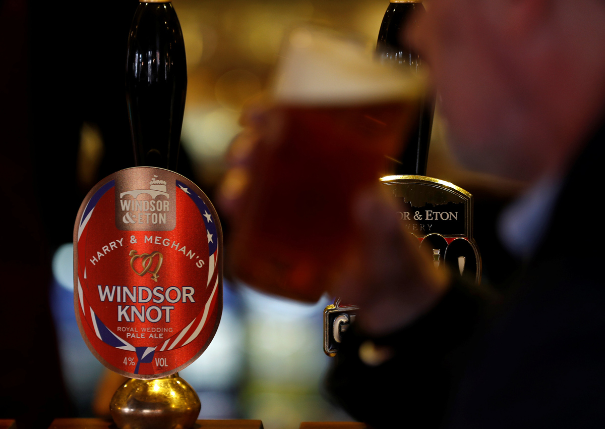 Beer lovers can toast Prince Harry and Meghan's wedding with new brew