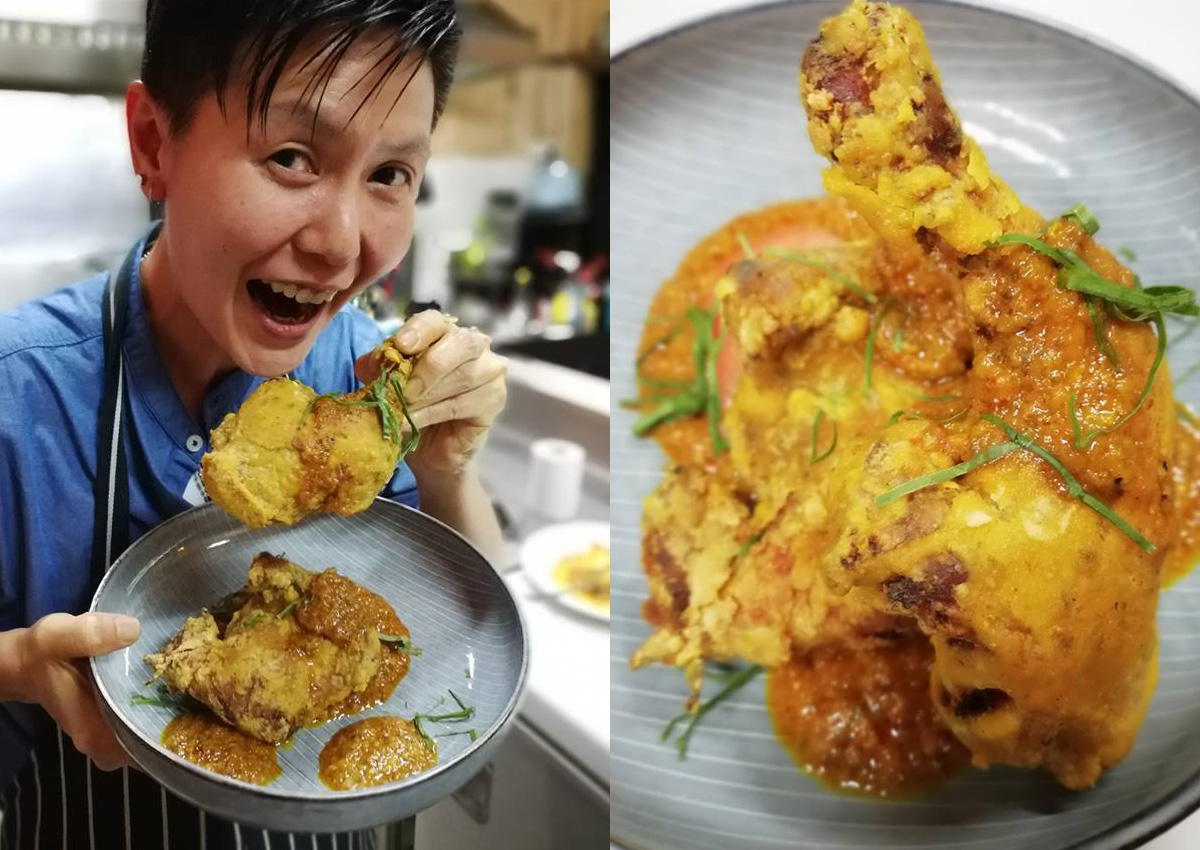 """Crispy rendang chicken? Malaysian chef says 'Why not?"""""""