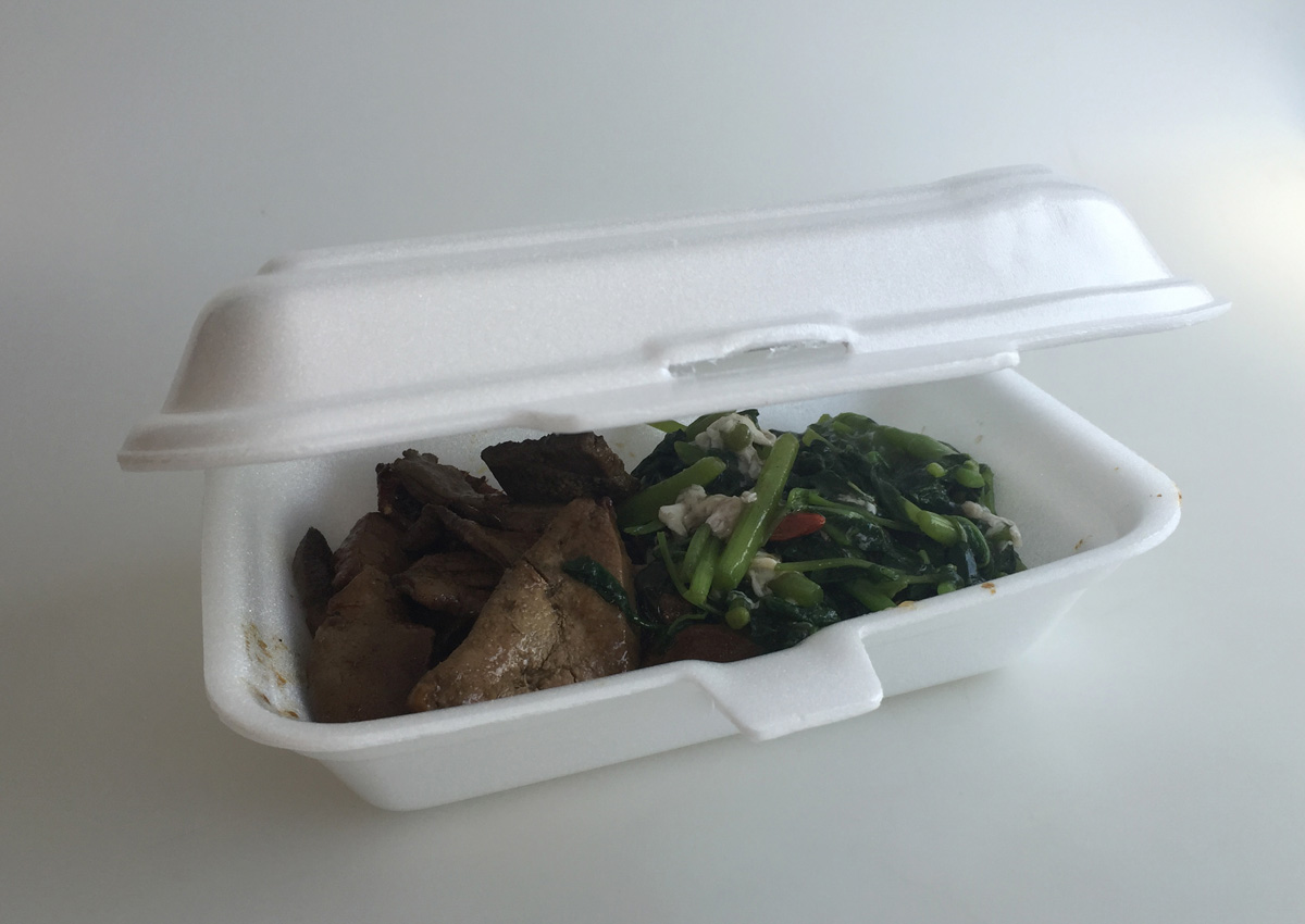 How safe are takeaway containers?