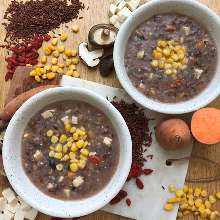 McDonald's Singapore creates red rice porridge after chef's visit to Bhutan