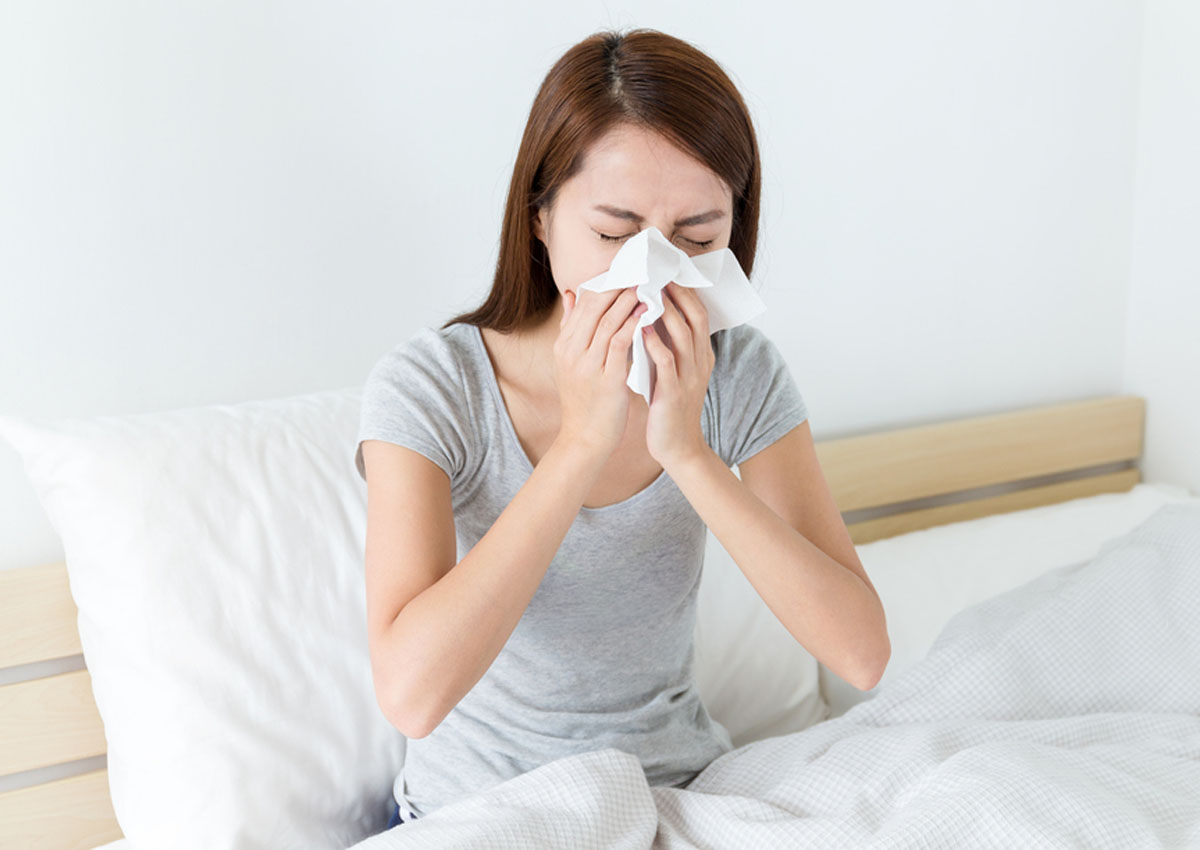 Got a cold? Here's how to get rid of your runny nose without medicine