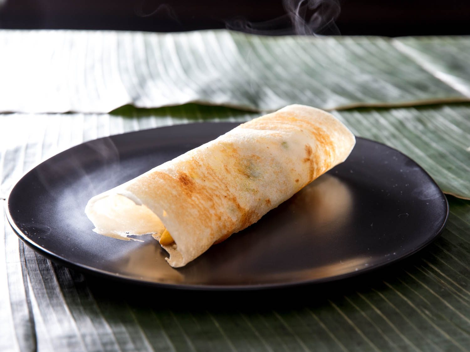 Dosa (Indian Rice-and-Lentil Crepes)