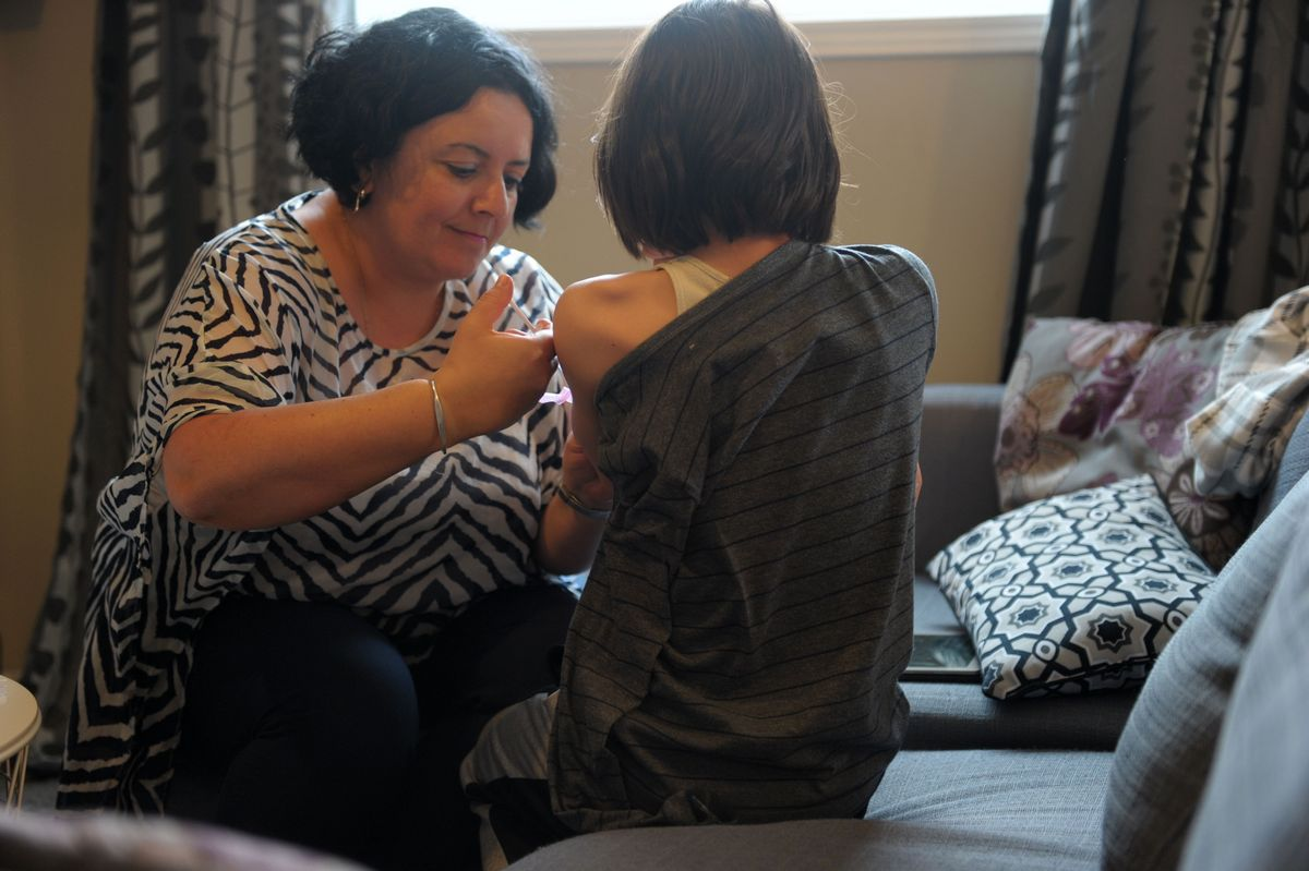 French boy's rare bone disease fight leads family to Canada