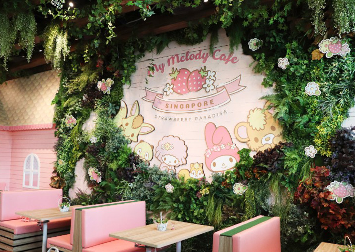 Here are some of the cutest dishes at Singapore's first My Melody cafe