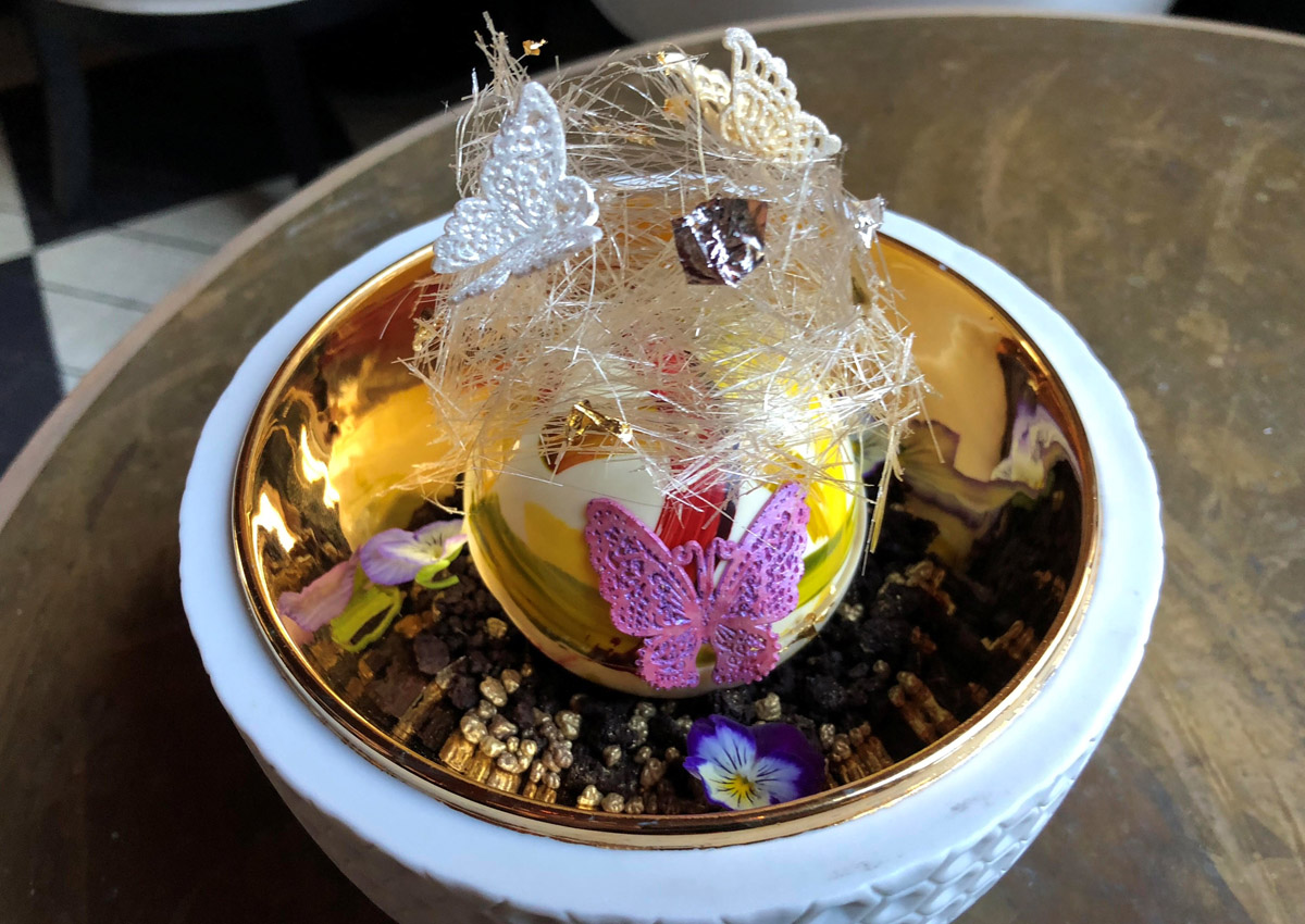Would you pay $2,000 for this dessert?