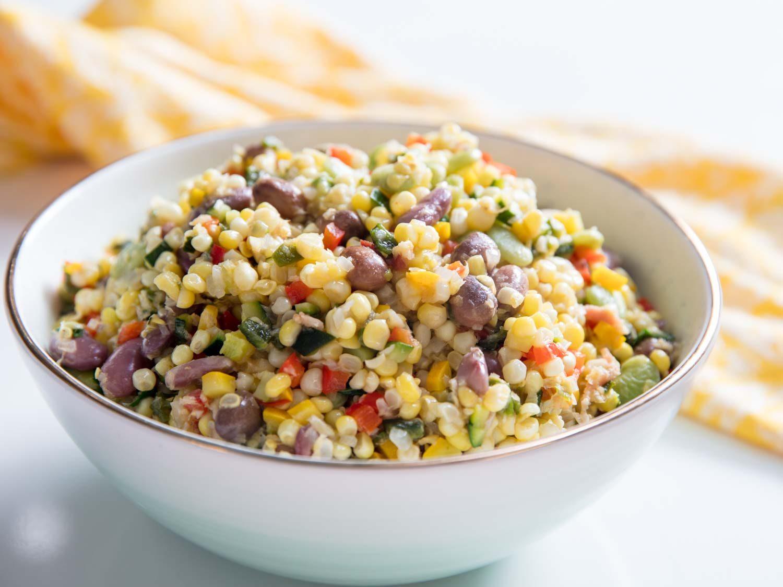 Succotash (Corn, Bean, and Vegetable Stew)