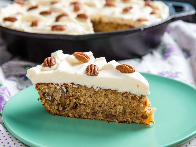Hummingbird Skillet Cake