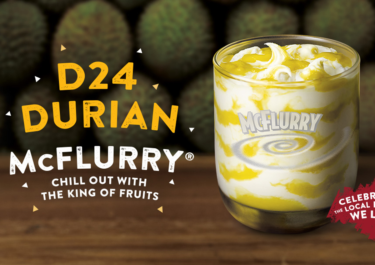 Taste test: Durian McFlurry From McDonald's Singapore
